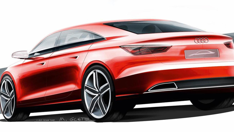 Audi A3 sedan concept teased for Geneva debut