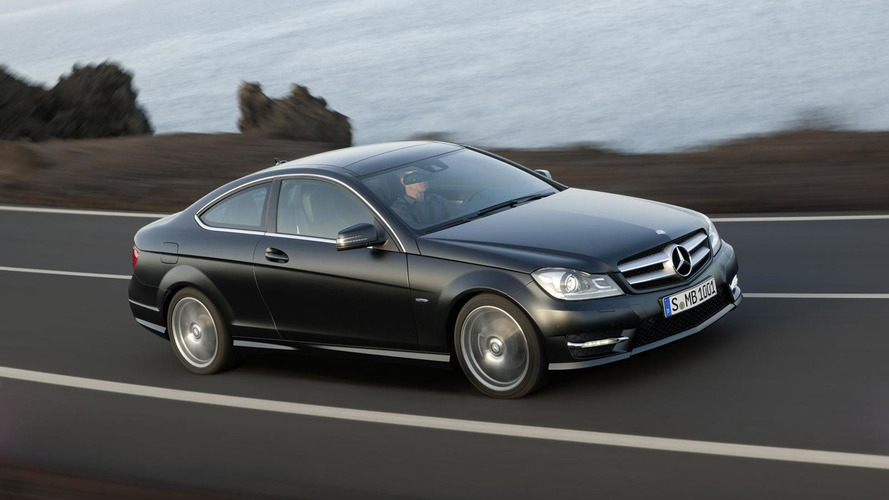 2012 Mercedes C-Class Coupe officially unveiled
