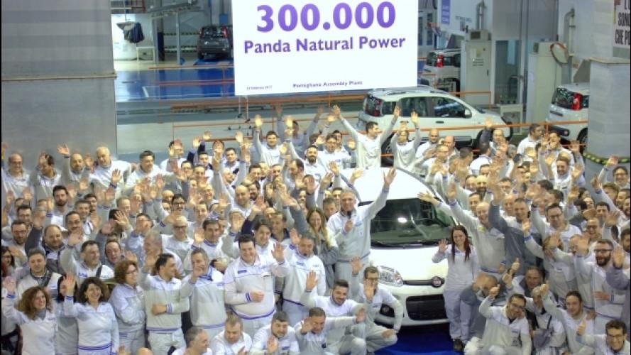 Fiat porta a Ginevra la Panda a metano… da record