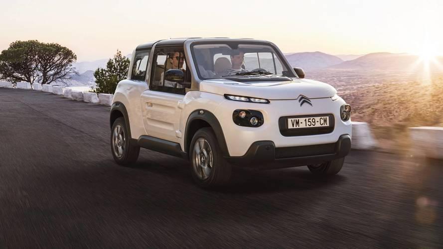Citroën, E-Mehari'ye sert tavan getirdi