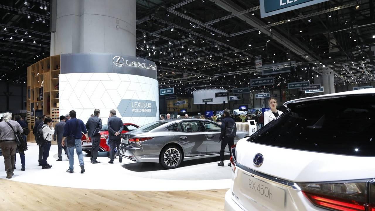 Lexus en el salón de Ginebra 2018
