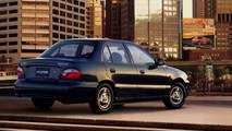 1996-2000 Hyundai Accent Sedan