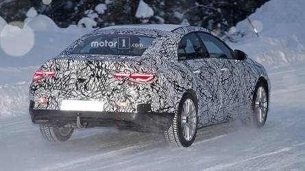 Say Hello To The New Mercedes CLA In First Spy Shots