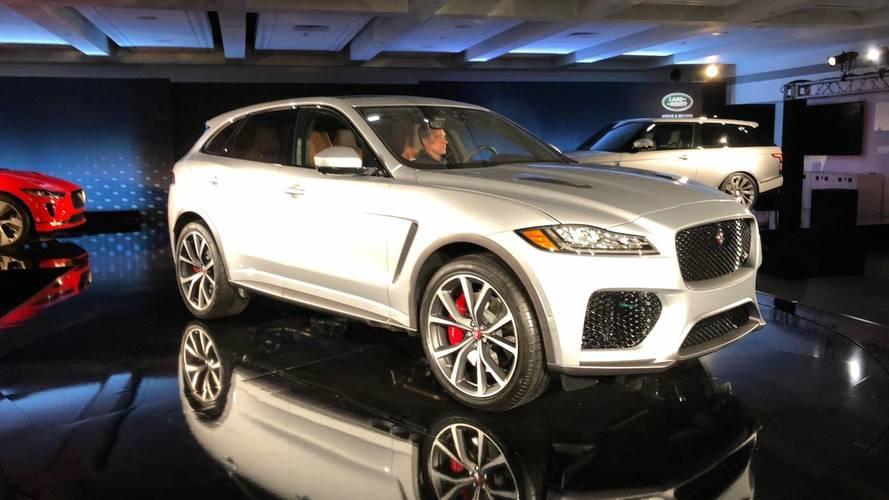 Jaguar F-Pace SVR, 550 beygirle tanıtıldı