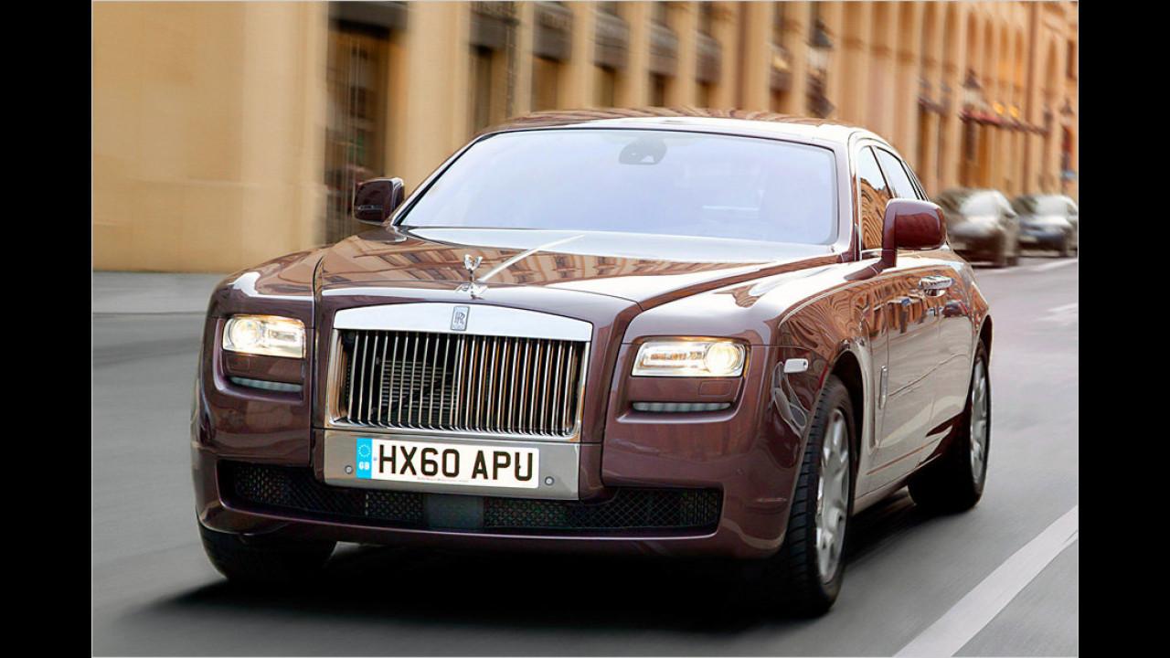 Zehn Exemplare: Rolls-Royce Ghost