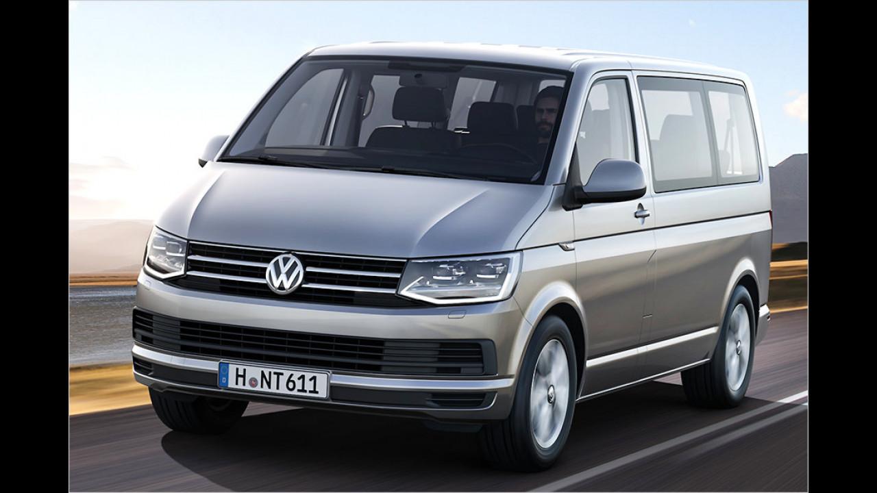 VW: Schockschwerenot, es ist ein Multivan