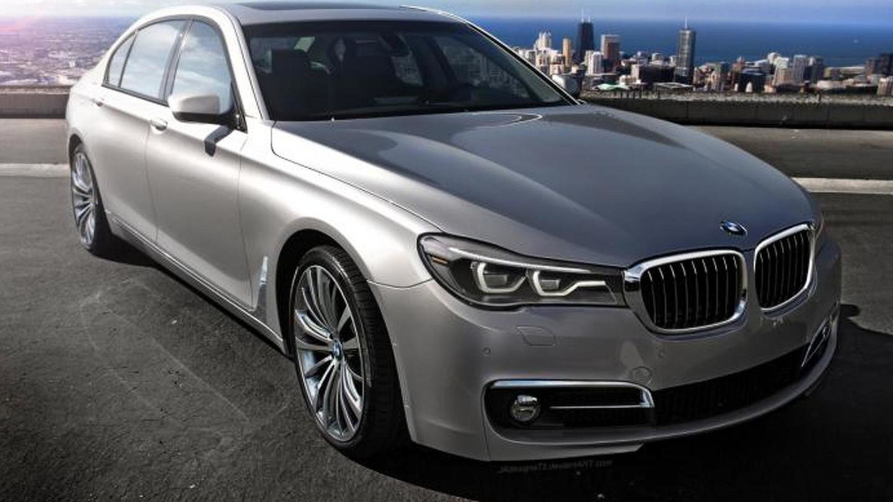 2016 BMW 7-Series rendering / Jerry Alvarez