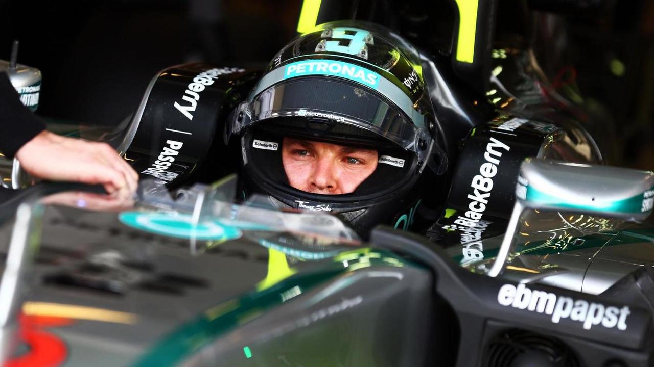 Nico Rosberg (GER), 25.11.2014, Formula 1 Testing, Day One, Yas Marina Circuit, Abu Dhabi / XPB