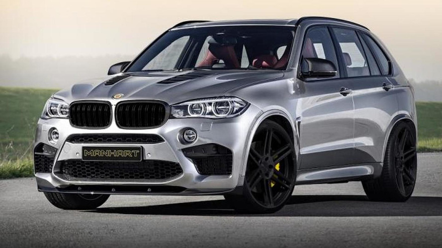 Manhart Racing MHX5 750 announced, based on the BMW X5 M
