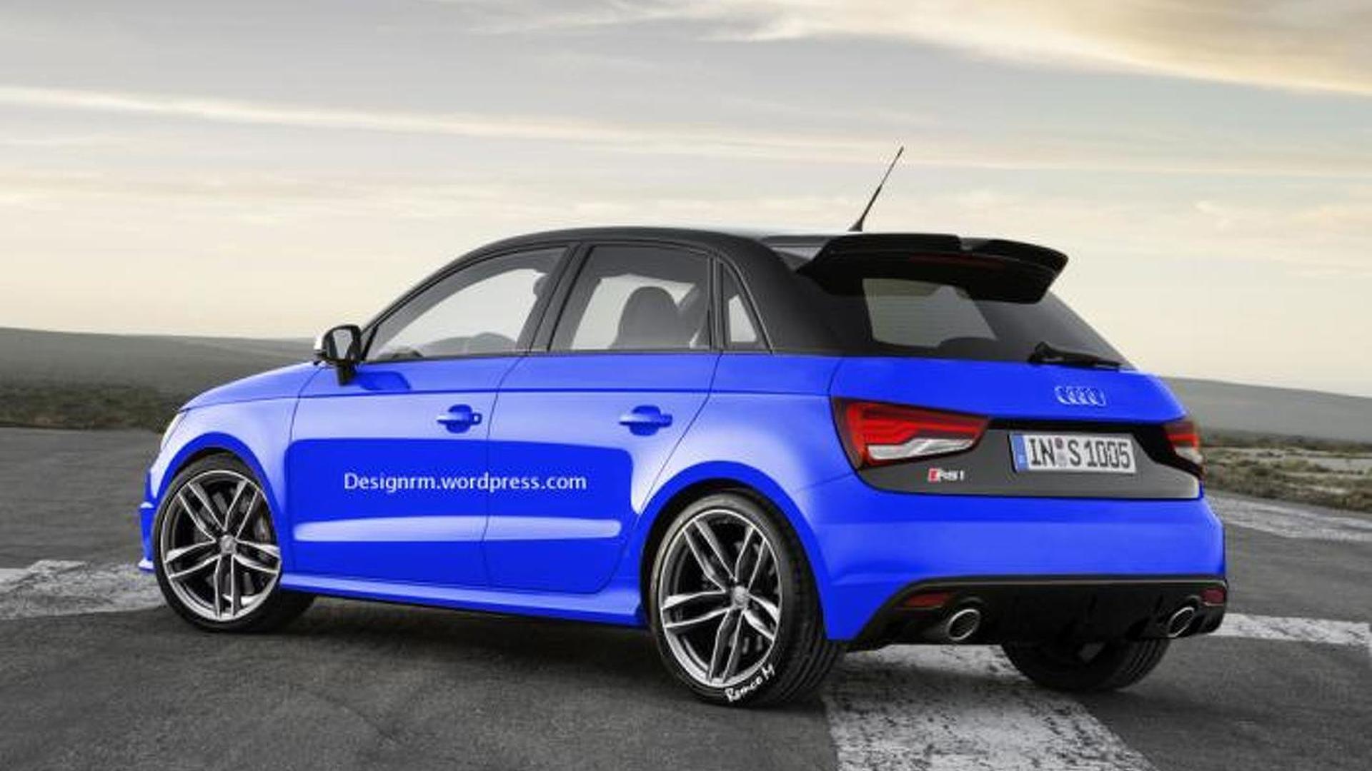 Новая Audi RS1, неофициально