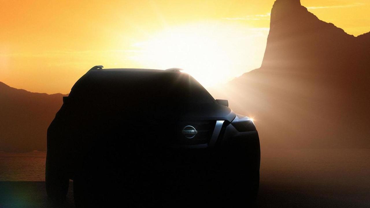 Nissan teaser image for 2014 São Paulo Motor Show