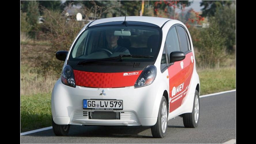 Mitsubishi i-MiEV kommt – zum Preis eines Mittelklässlers
