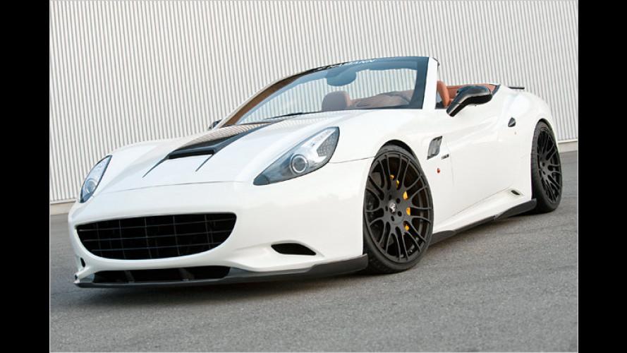 IAA: Heißes Hamann-Tuning für den Ferrari California