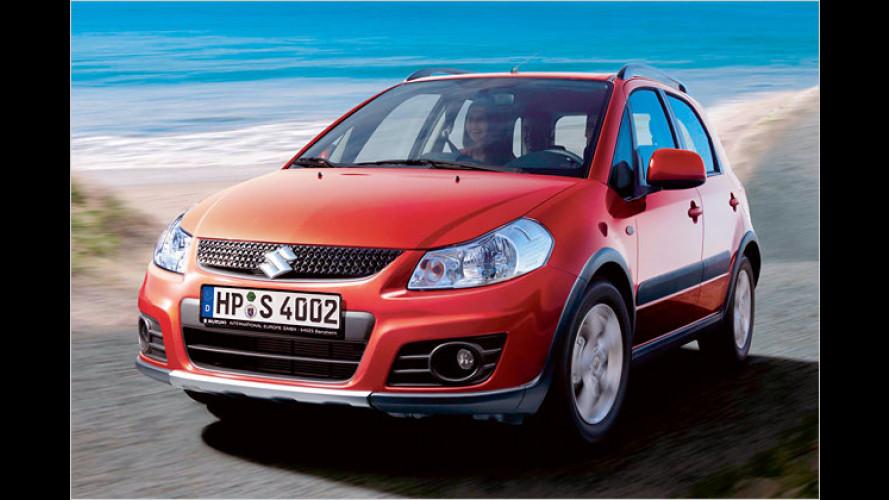 Suzuki auf der IAA: SX4-Facelift und neue Sondermodelle