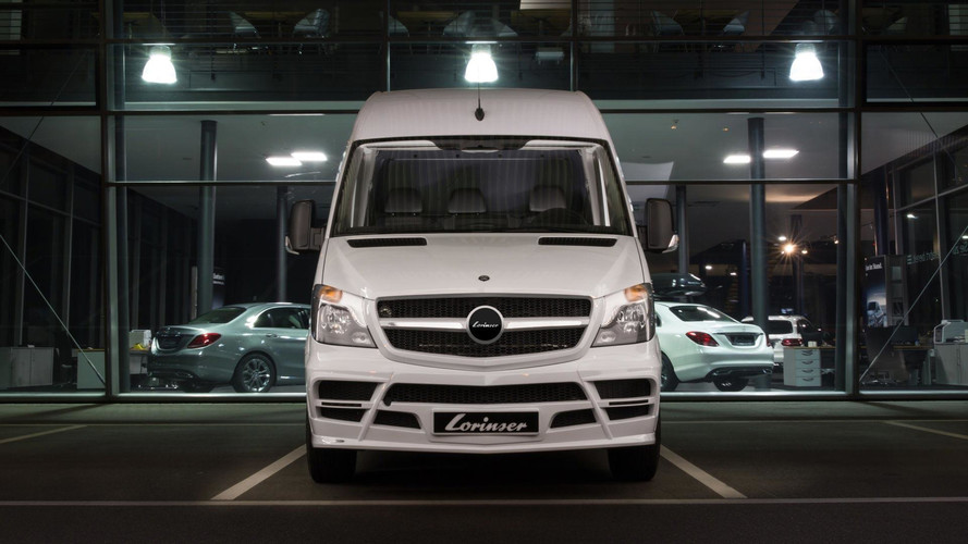Mercedes-Benz Sprinter Gets Widebody Kit From German Tuner