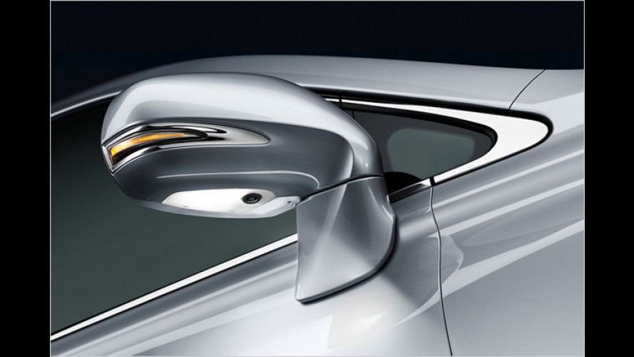 Einfacheres Einparken: Seitenkamera für neuen Lexus RX