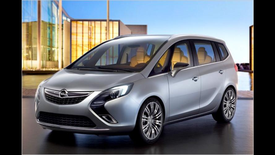 Opel blickt in die Zafira-Zukunft