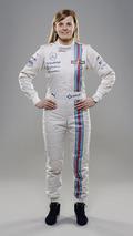 Susie Wolff Williams Martini Racing Launch