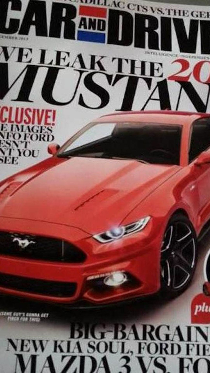 2015 Ford Mustang leaked photo 27.10.2013