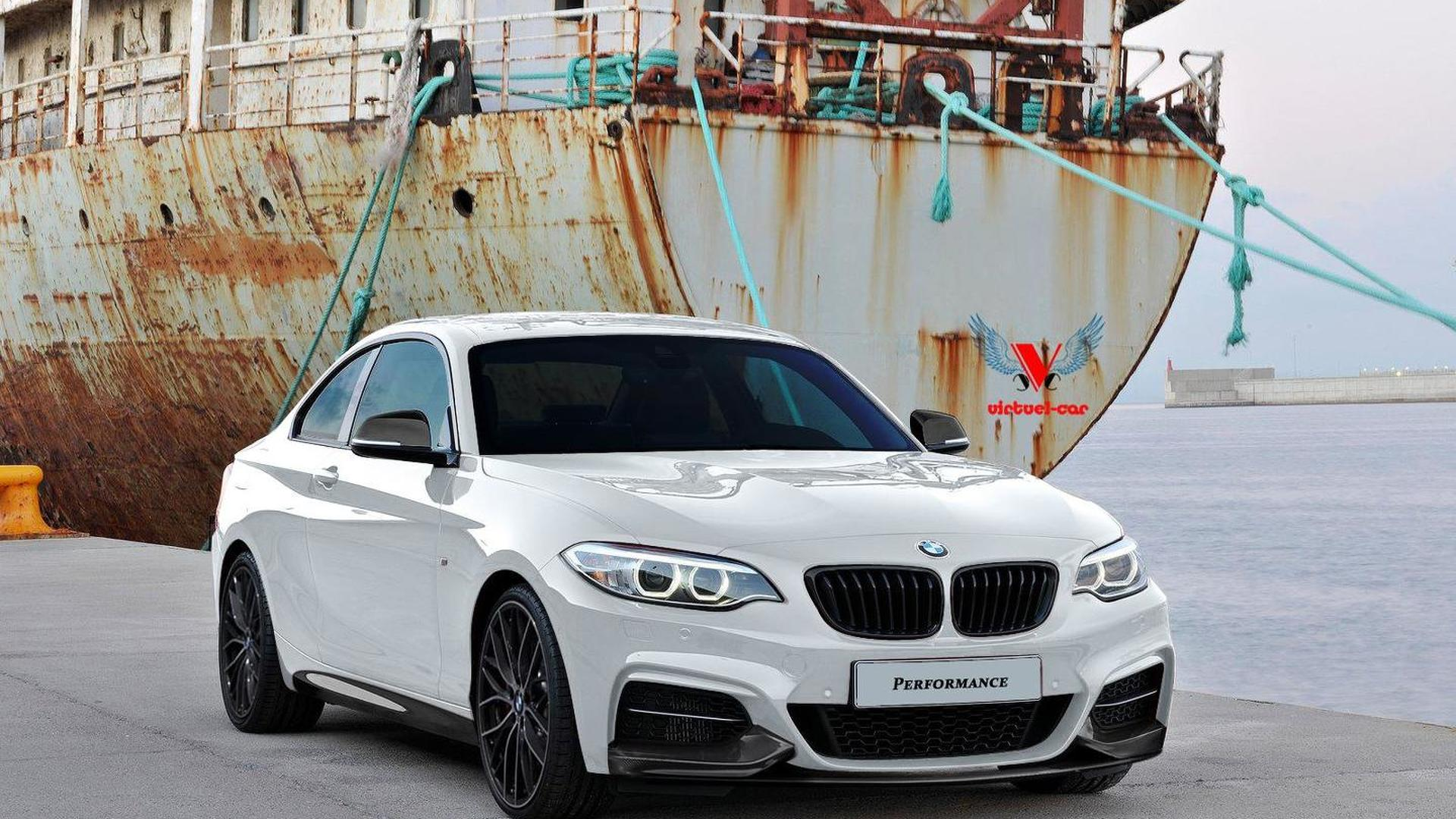 2014 BMW 2Series Coupe rendered with M Performance goodies