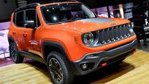 2015 Jeep Renegade live in Geneva