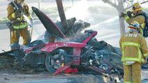 Paul Walker fatal accident in Porsche Carrera GT