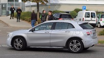 Mercedes-Benz GLA-Class refresh spy