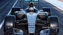 Mercedes AMG F1 W07 Hybrid with 2017 Pirelli tires