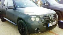 Mercedes GLK Spied at Prague airport