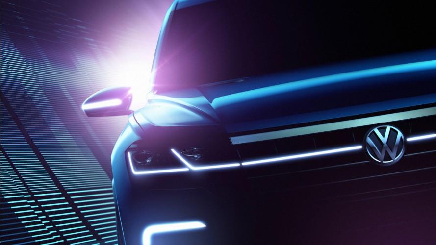 VW, yüksek teknolojili SUV aracının fotoğraflarını yayınladı