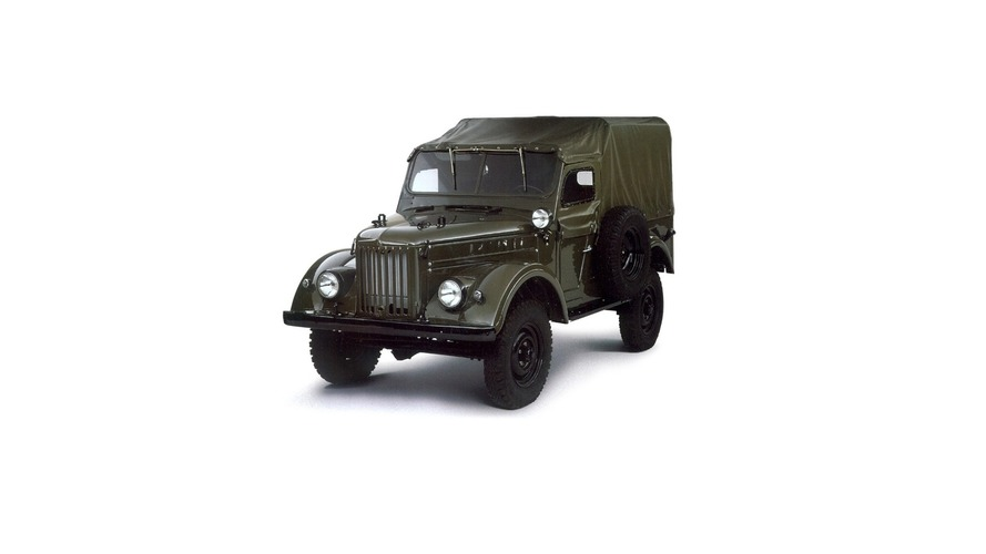 Soviet Bloc Cars Were Weird: GAZ 69