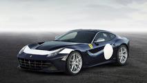 Ferrari 70'inci Yıl özel giydirmeleri