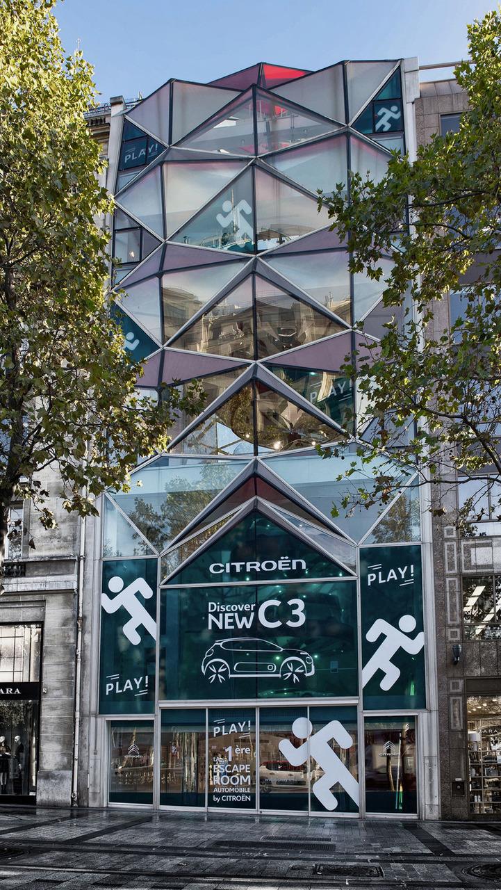 Citroen's escape game at C42 Paris