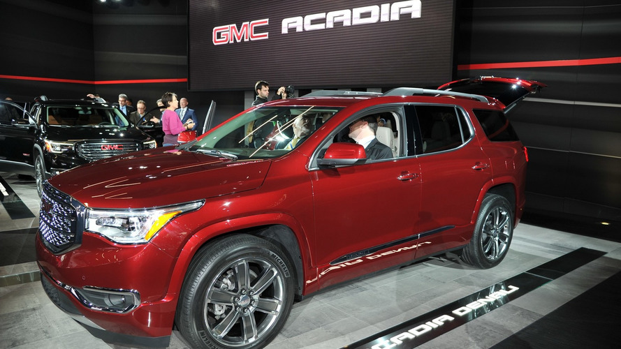 2017 GMC Acadia goes official with massive 700-pound diet [videos]
