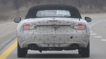 Abarth 124 Spider spy photo