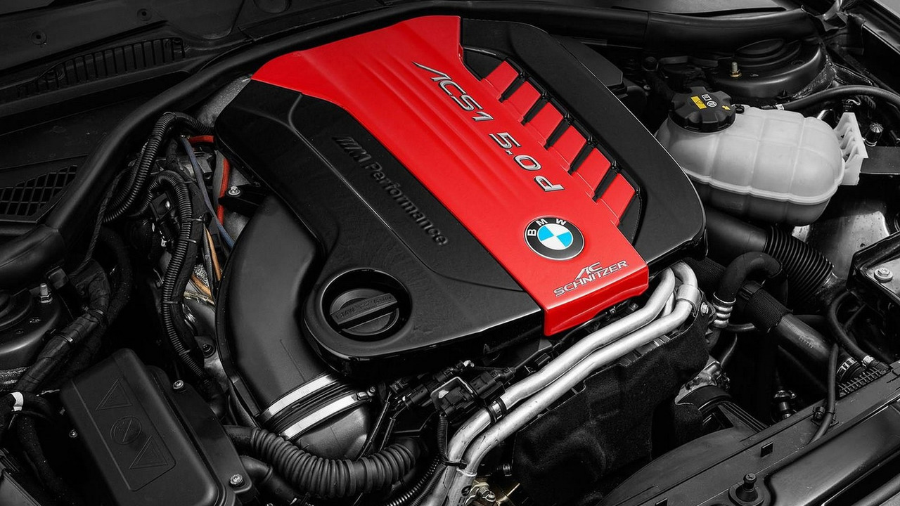 ac schnitzer squeezes tuned m550d tri turbo engine inside 1 series for essen. Black Bedroom Furniture Sets. Home Design Ideas
