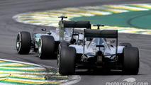 Lewis Hamilton, Mercedes AMG F1 Team and Nico Rosberg, Mercedes AMG F1 Team