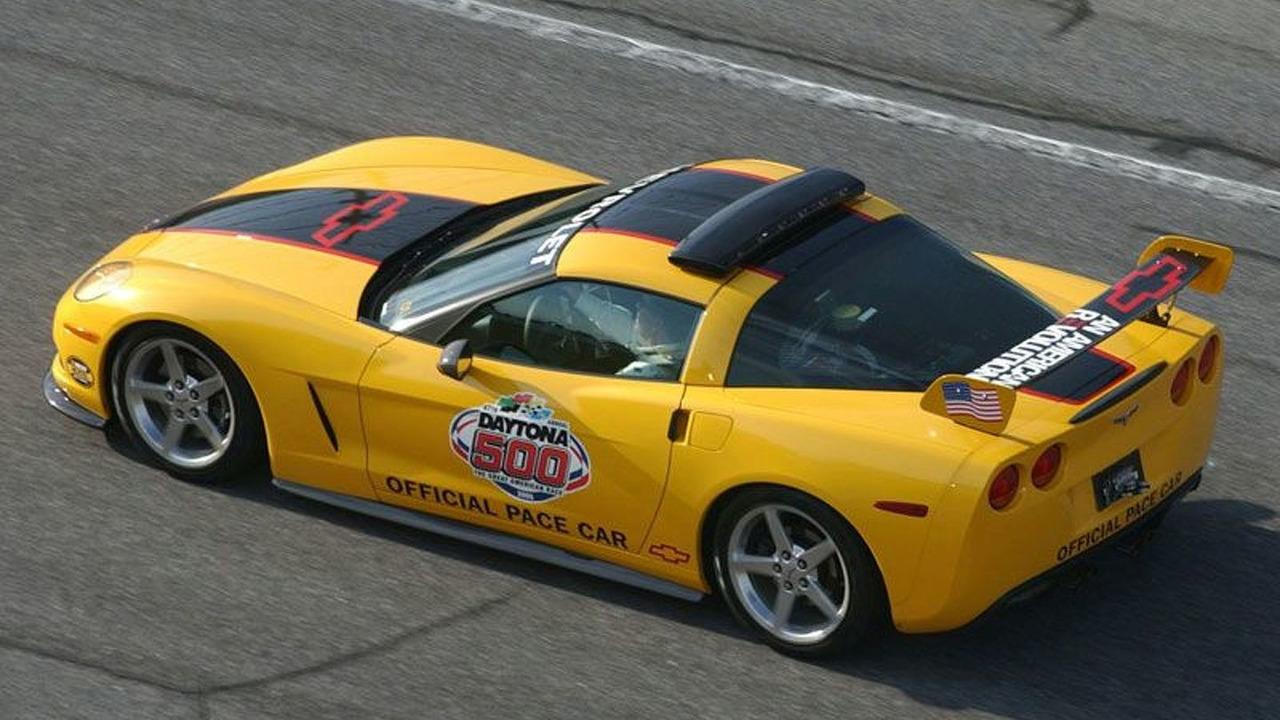 Chevrolet Corvette Daytona Pace Car in Action