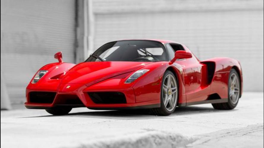 Ferrari Enzo, all'asta l'esemplare del Papa