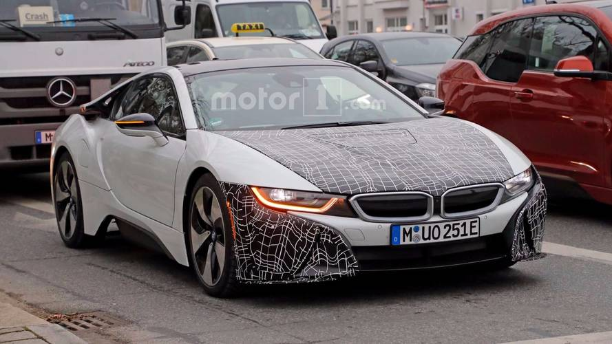 BMW i8 S casus fotoğrafları