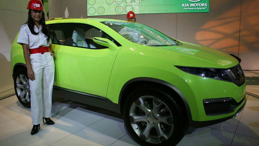 Kia KND-4 Compact SUV Concept at LAIAS