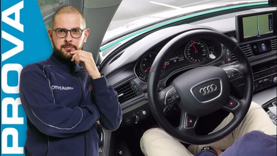 Audi A7 Jack, in autostrada con la