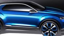Volkswagen T-ROC concept announced for Geneva