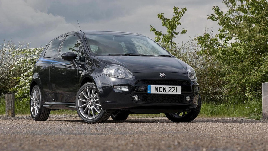 Fiat Punto Jet Black 2 edition revealed for the U.K.