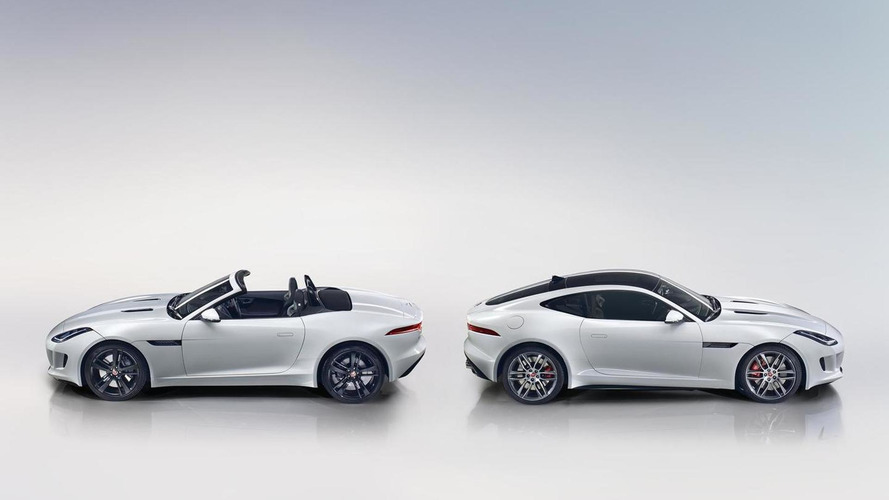 Jaguar F-Type unleashed with 550HP R Coupe performance model [108 photos & video]