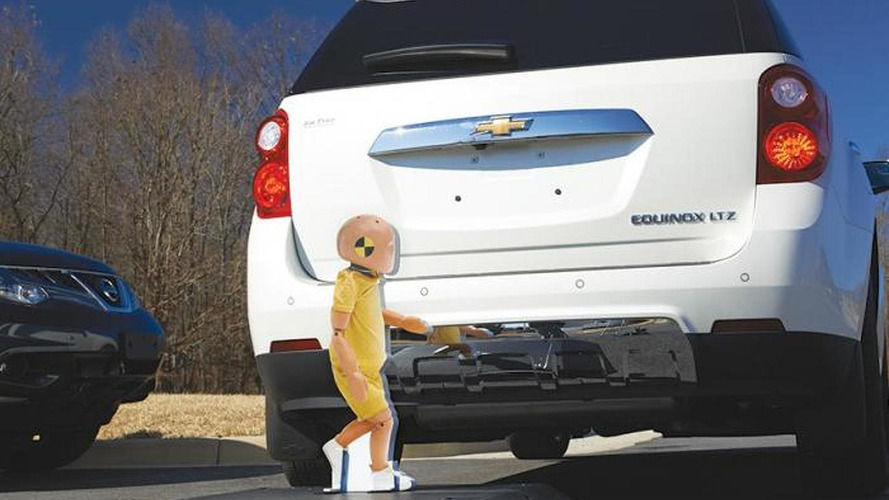 IIHS states the obvious: rearview cameras more effective than parking sensors