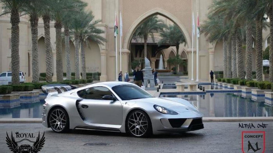 Alpha 1 Concept based on the Porsche Cayman might just be crazy enough to work