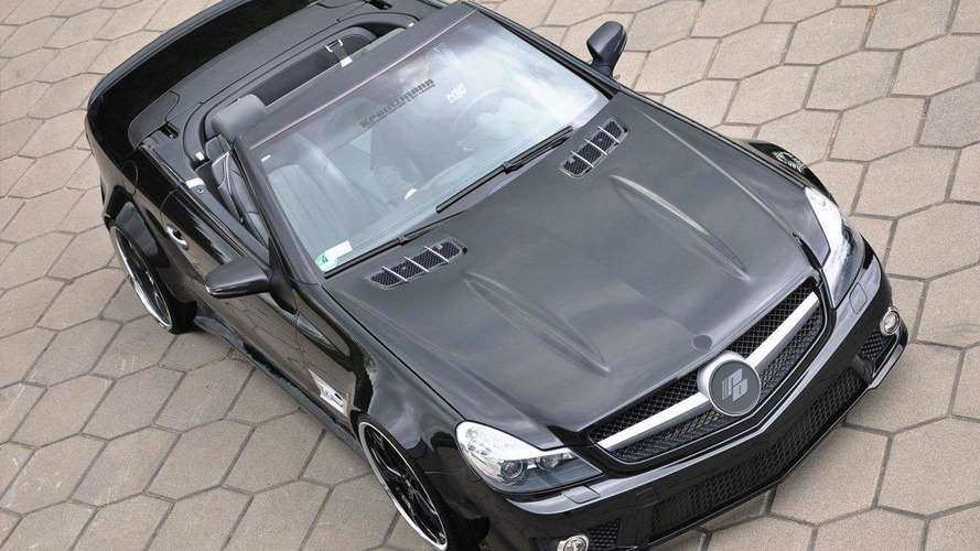 Mercedes SL-Class R230 facelift widebody by Prior Design