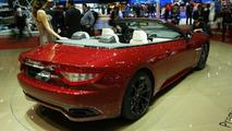 Maserati GranCabrio Sport unveiled at Geneva Show