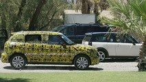 MINI Crossman / Countryman spy photo with Clubman